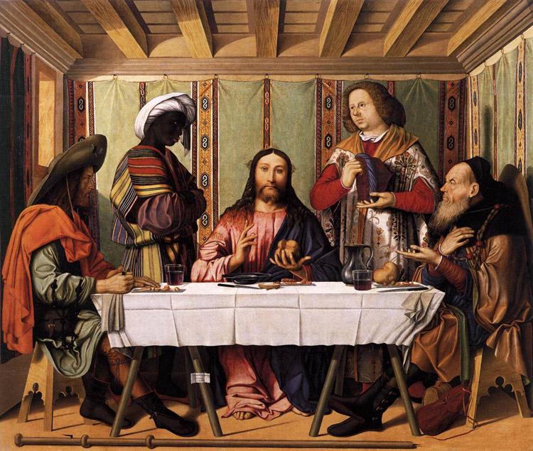 Cena in Emmaus di Marco Marziale