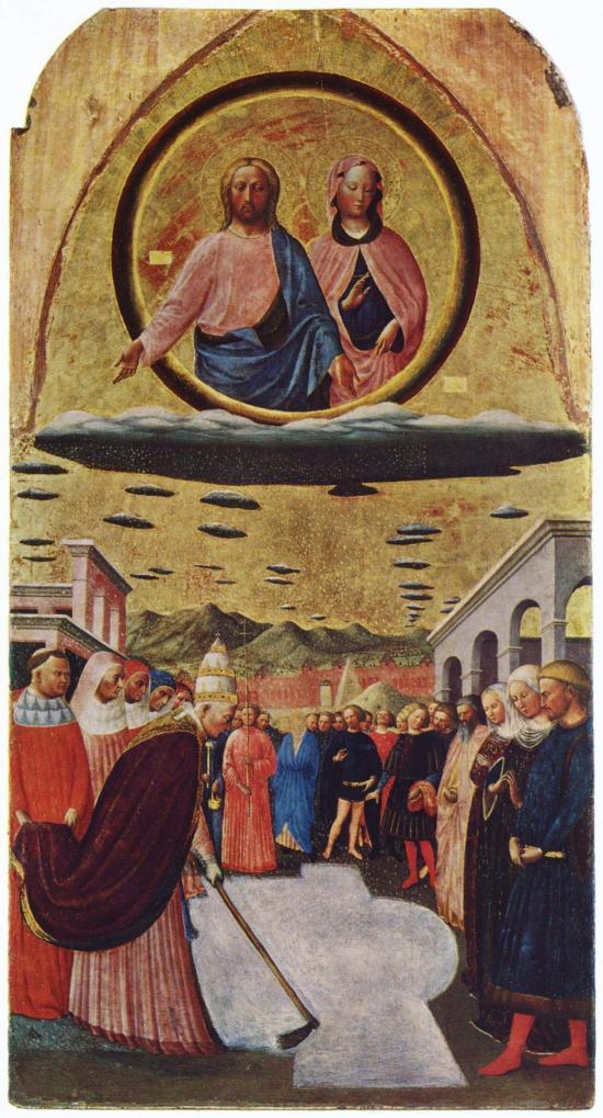 Fondazione della chiesa di Santa Maria Maggiore di Masolino da Panicale