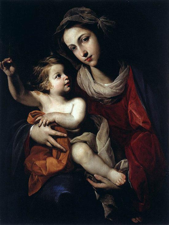 Madonna col Bambino di Massimo Stanzione