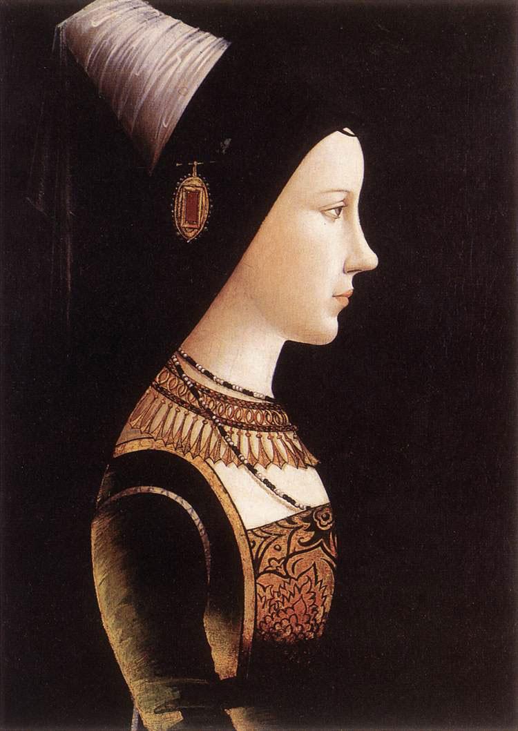 Ritratto di Maria di Borgogna di Michael Pacher