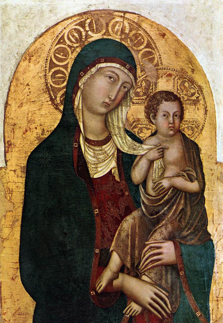 Madonna col Bambino di Niccolò di Segna