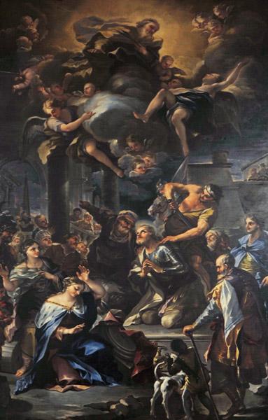 Martirio di sant'Alessandro da Bergamo di Nicola Malinconico