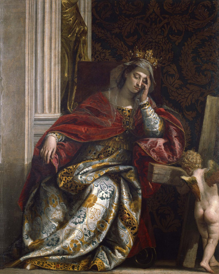 Visione di sant'Elena di Paolo Veronese
