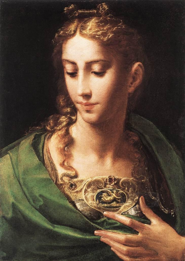 Pallade di Parmigianino