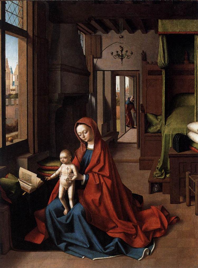 Madonna col Bambino di Petrus Christus