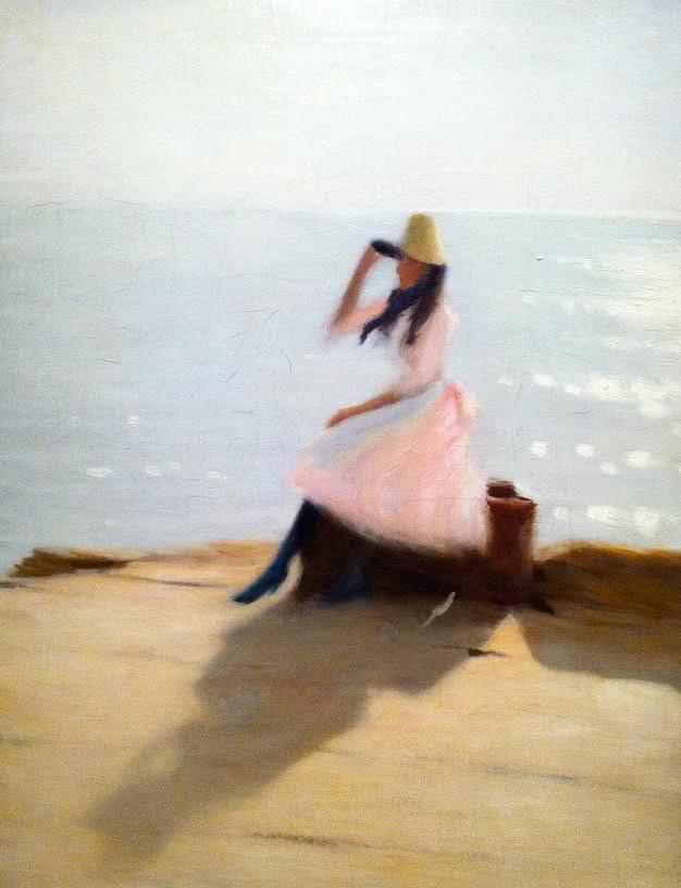 Ragazza sulla spiaggia di Philip Wilson Steer