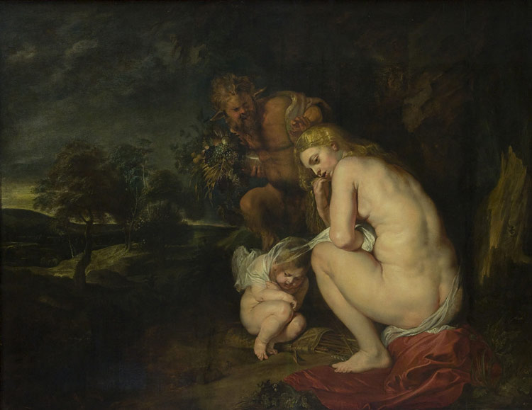 Venus Frigida di Pieter Paul Rubens