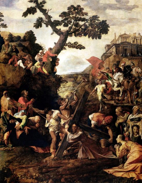 Andata al Calvario di Polidoro da Caravaggio
