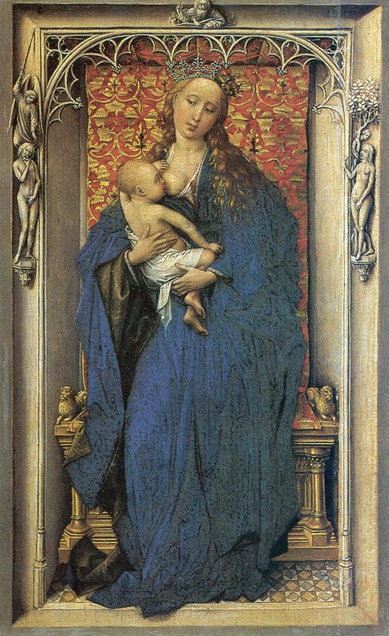Madonna col Bambino di Rogier van der Weyden