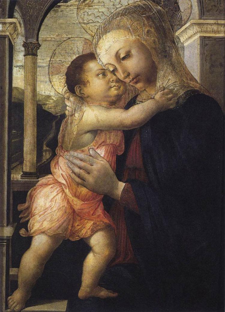 Madonna della loggia di Sandro Botticelli