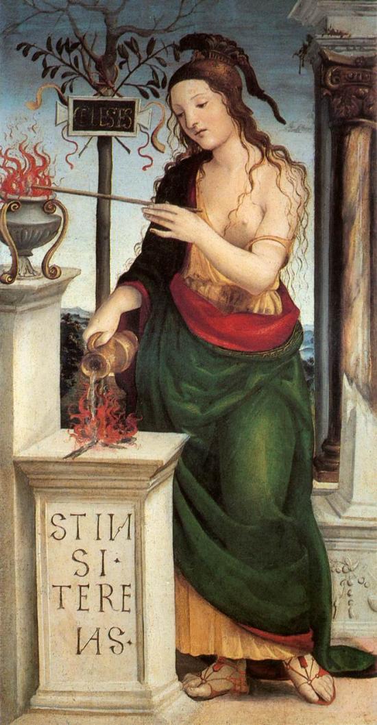 Allegoria dell'amore celeste di Sodoma