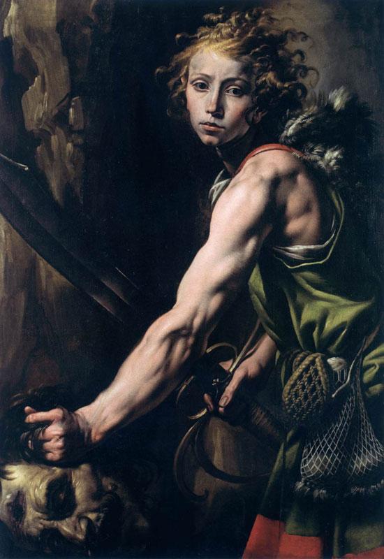 Davide con la testa di Golia di Tanzio da Varallo