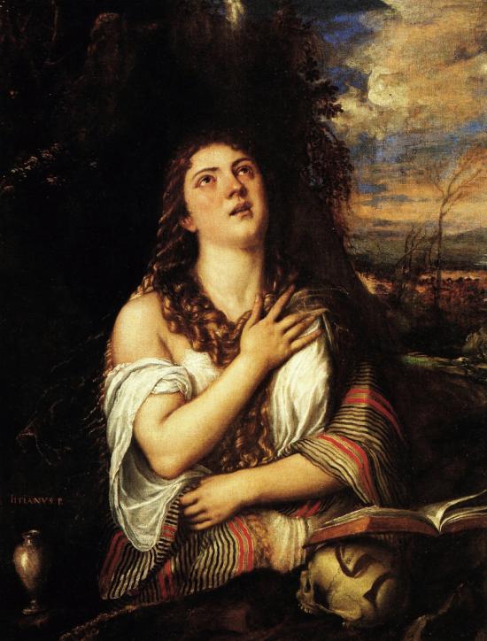 Maddalena penitente (Napoli) di Tiziano, podcast di storia dell'arte
