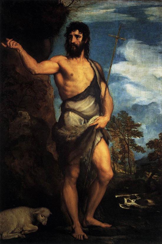 San Giovanni Battista di Tiziano