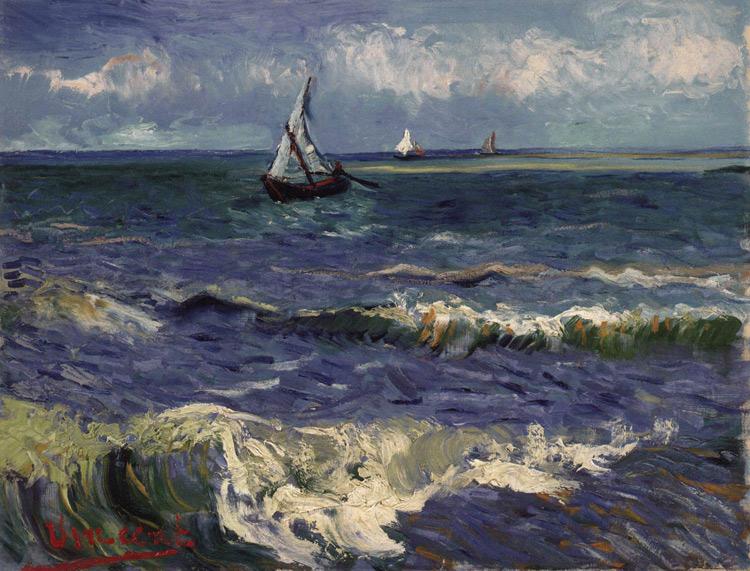 Marina a Saintes-Maries-de-la-Mer di Vincent van Gogh