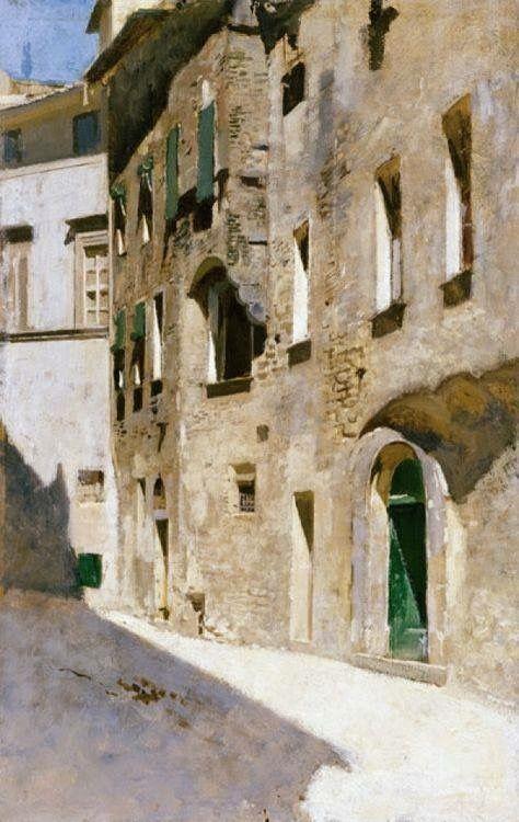 Effetto di sole di Vincenzo Cabianca