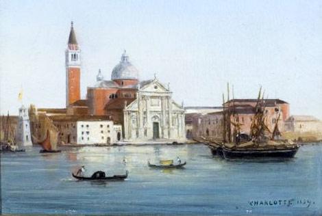 Carlotta del Belgio, Veduta di San Giorgio Maggiore a Venezia