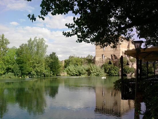Il ponte-diga visconteo di Borghetto sul Mincio
