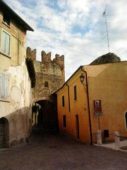 Vicolo a Borghetto sul Mincio
