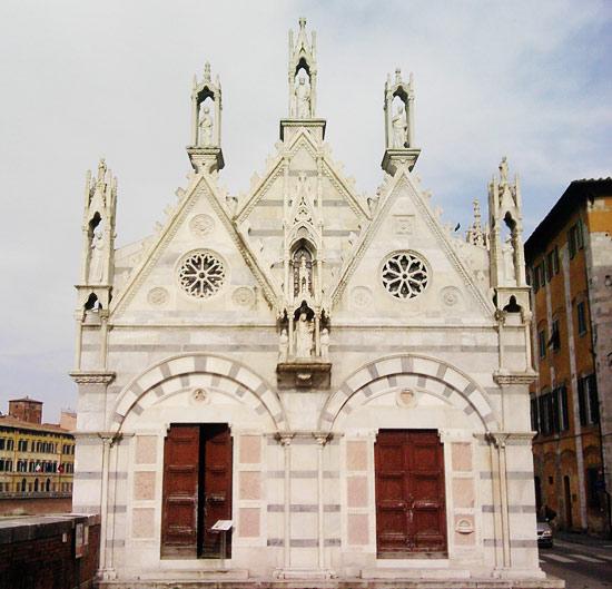 Cinque sorprese da vedere a pisa oltre alla torre e alla - Finestre circolari delle chiese gotiche ...