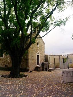 La piccola chiesa di San Michele al Carnale