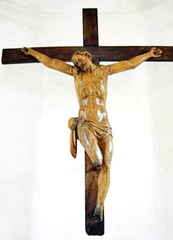 Il crocifisso di Hougoumont