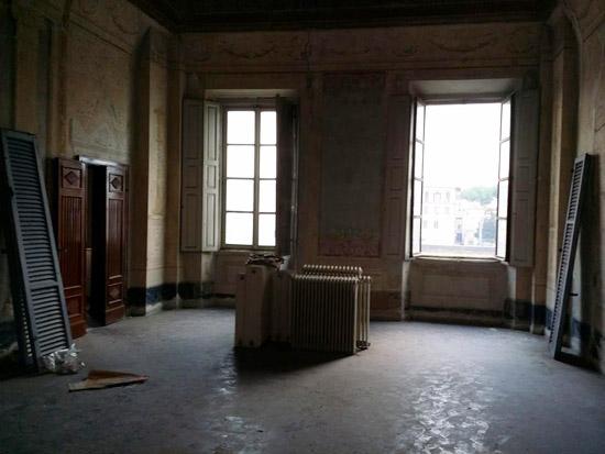 Pisa, Palazzo Boyl, interno