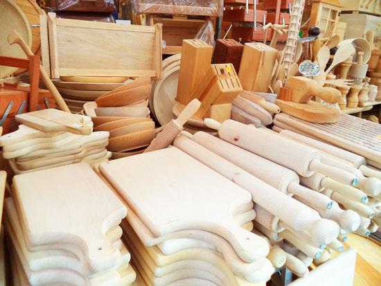 Attrezzi in legno