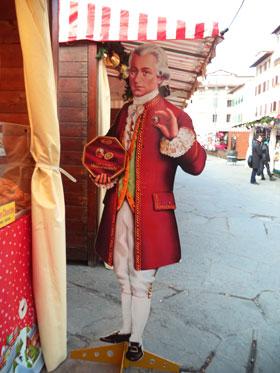 Mozart vi aspetta al banco austriaco!