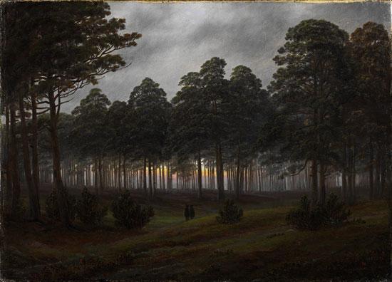 Caspar David Friedrich, La sera