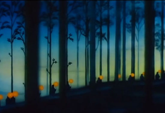 La foresta del film Fantasia