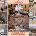 Carrara, ancora alluvione. Noi protestiamo con una cartolina. Vi va di condividerla?