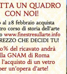 Adotta un quadro con noi: Finestre sull'Arte per la Galleria Nazionale d'Arte Moderna di Roma