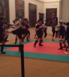 Tutti a fare fitness a Santa Maria della Scala... insieme ai dipinti!