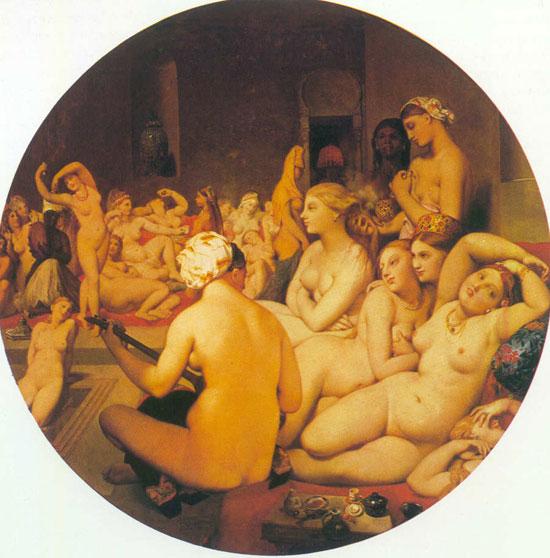 Jean Auguste Dominique Ingres, Il bagno turco