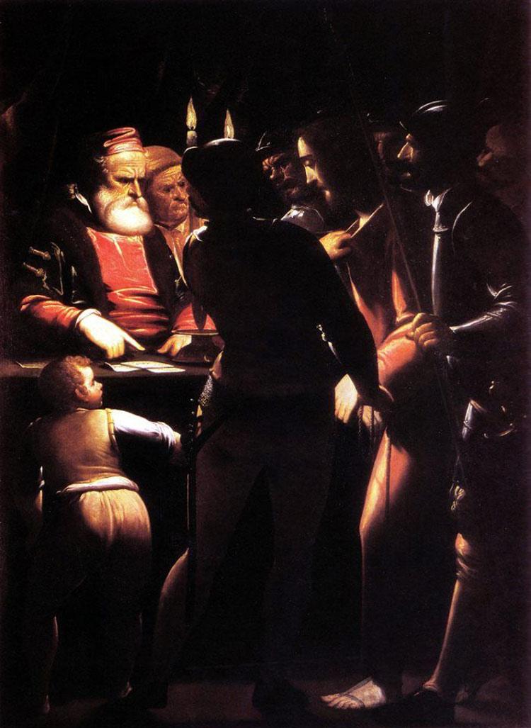 Luca Cambiaso, Cristo davanti a Caifa