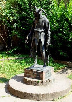 La statua di Rigoletto