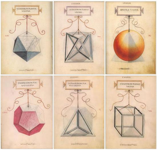 Poliedri di Leonardo da Vinci