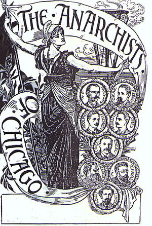 Walter Crane, The Anarchists of Chicago