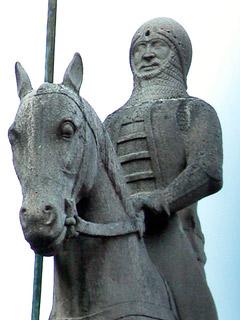 Dettaglio del monumento di Cansignorio