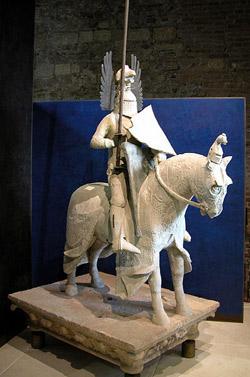 La statua di Mastino II al Museo di Castelvecchio
