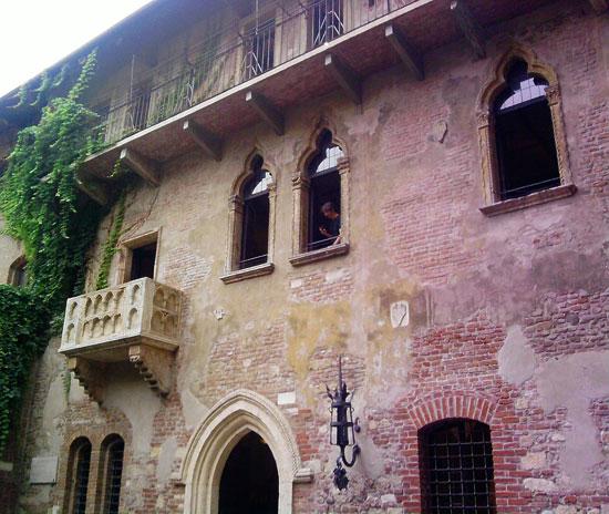Il fascino romantico della casa di giulietta a verona for Splendide planimetrie della casa