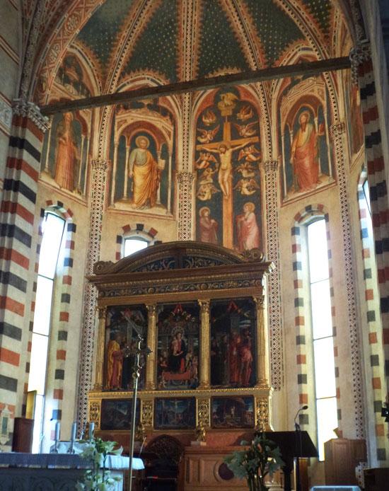 La Pala di San Zeno nel suo contesto, l'altare maggiore della Basilica di San Zeno a Verona