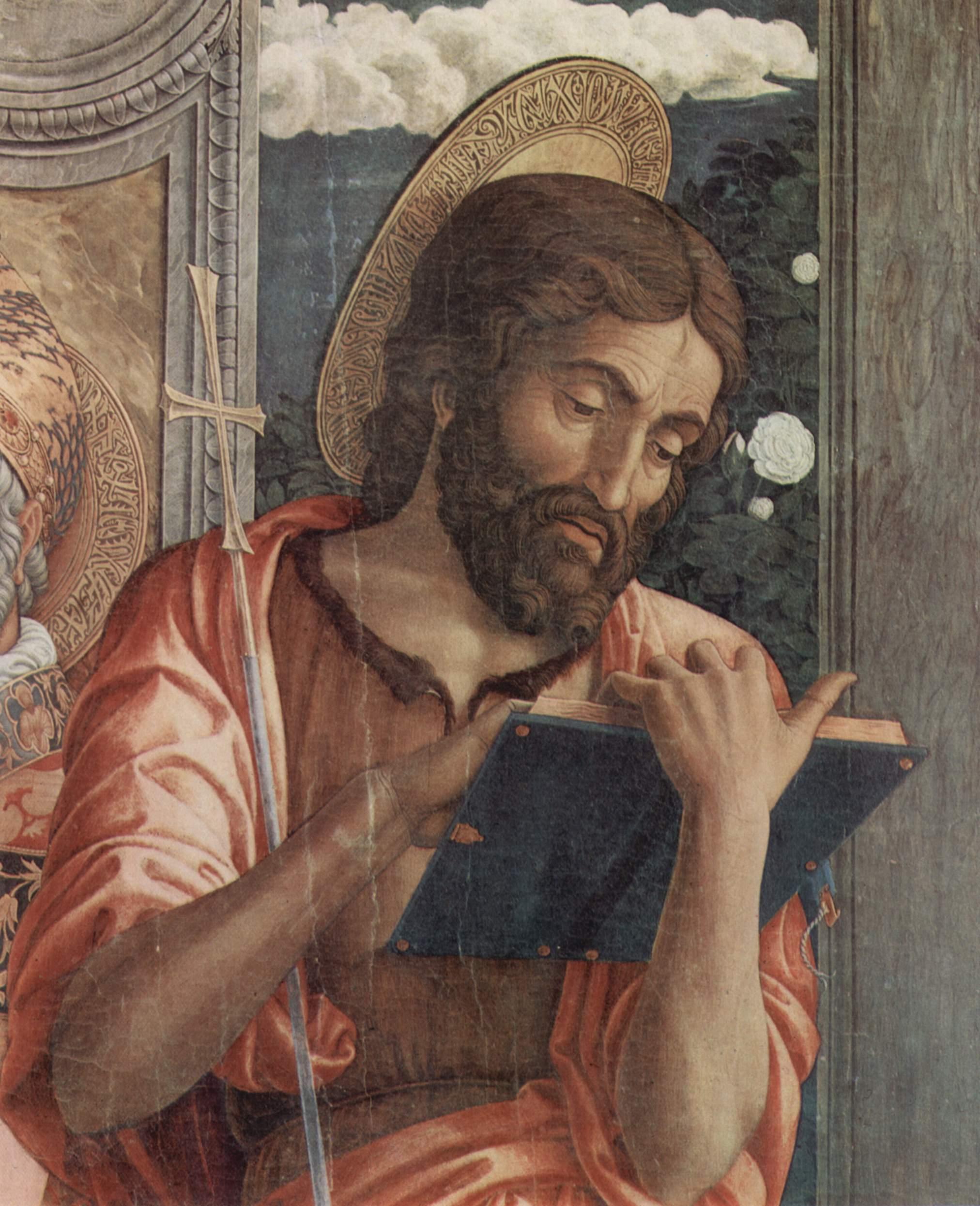 Dettaglio del San Giovanni Battista