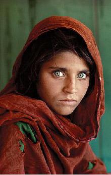 La celeberrima Ragazza afgana