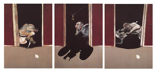 Francis Bacon, Triptych, May–June 1973