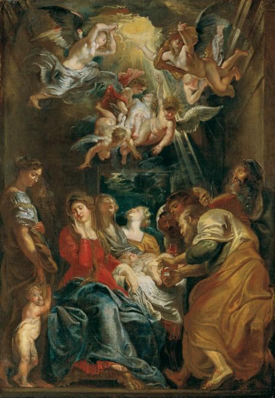 Pieter Paul Rubens, Circoncisione (1604; Genova, Chiesa del Gesù)
