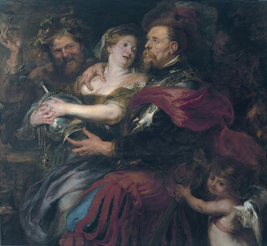 Pieter Paul Rubens, Venere e Marte (1632-1635; Genova, Palazzo Bianco)
