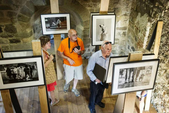 Steve McCurry visita la mostra Icons