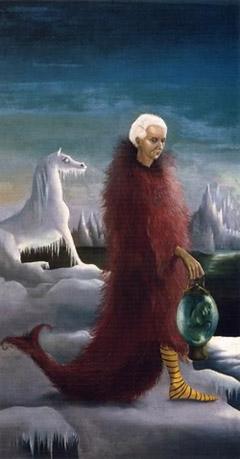 Leonora Carrington, Ritratto di Max Ernst (1939; collezione privata)